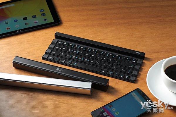 LG推出新款卷轴式蓝牙键盘 9月在美正式发售